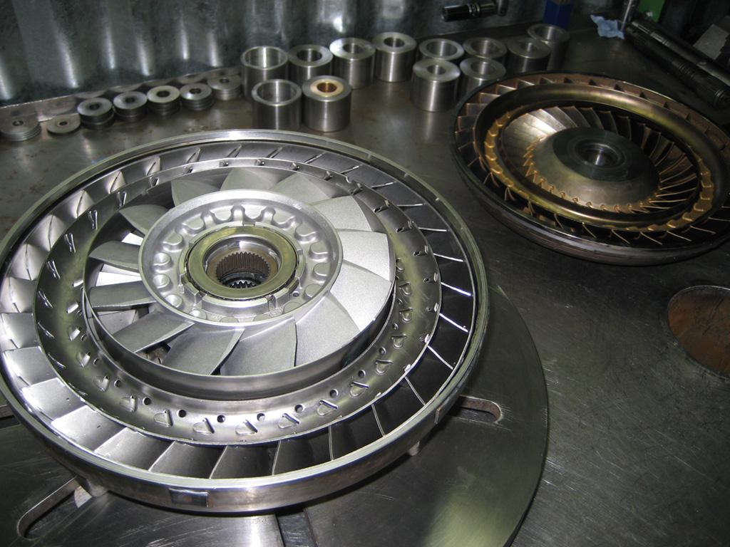Принцип работы гидротрансформатора погрузчика